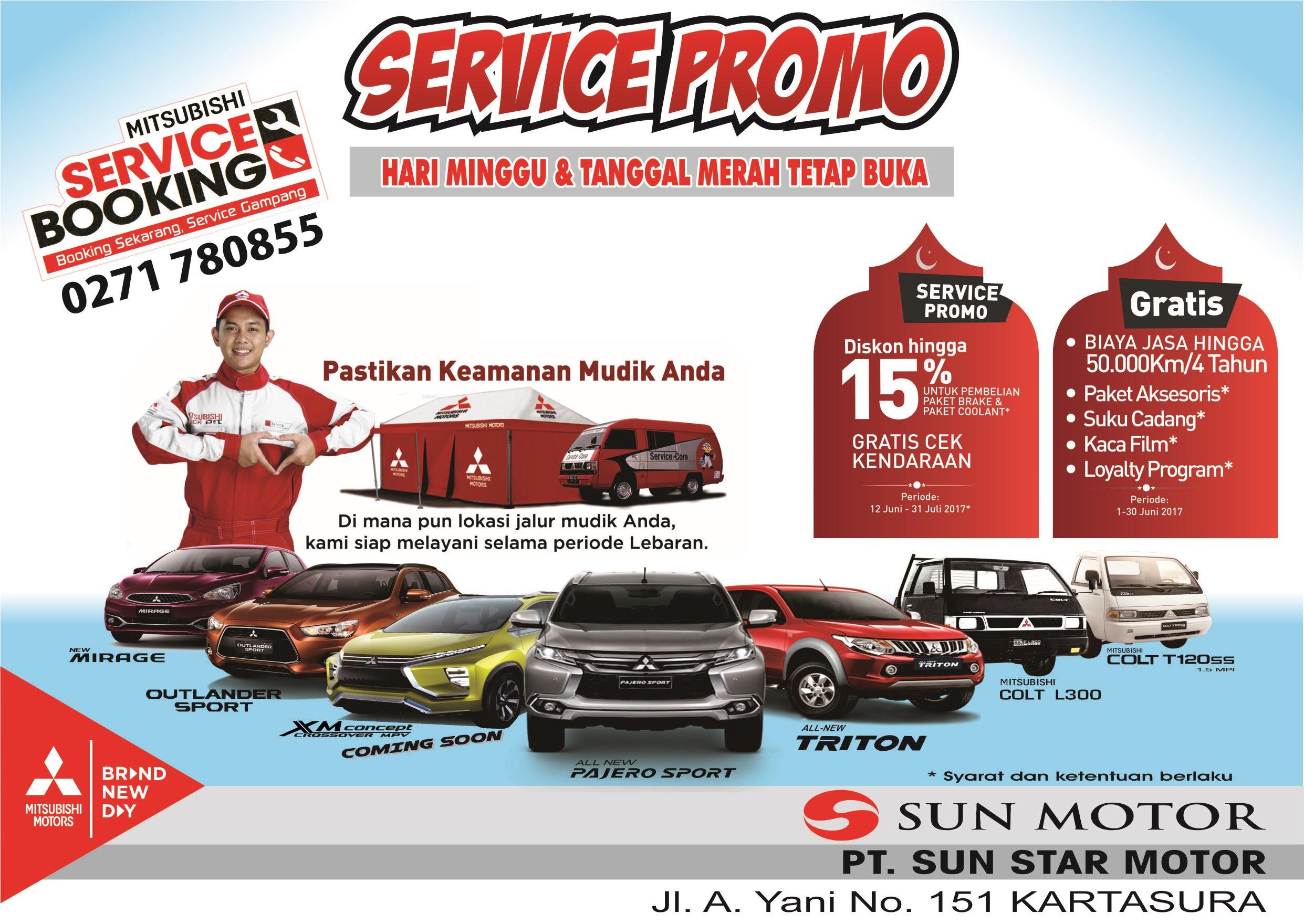 Service Berkala Mobil Mitsubishi Anda Kenapa Pt Sun Star Motor